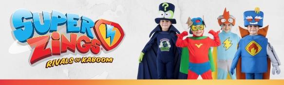 Disfraces oficiales y accesorios de Superzings
