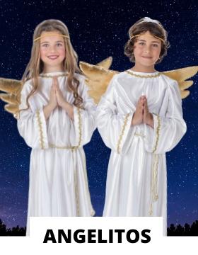 Compra online los disfraces navideños de ángel más originales