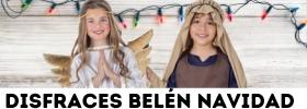 Disfraces de pastores, ángeles, estrellas, ovejitas para un Belén de Navidad