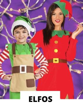 Compra online los disfraces navideños de Elfo más originales