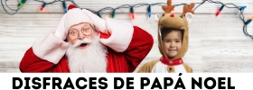 Disfraces de Papá Noel y vestidos de mamá Noel