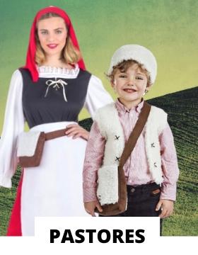 Compra online los disfraces navideños de pastorcillos más originales