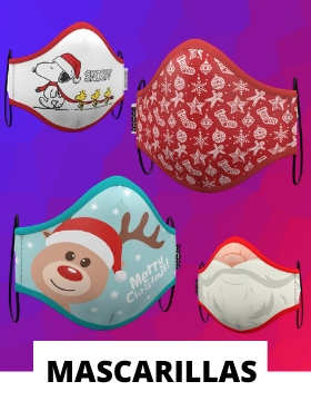 Compra online las mascarillas navideñas homologadas más originales